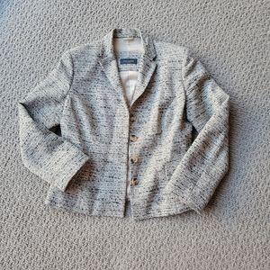 Piazza Sempione tweed blazer